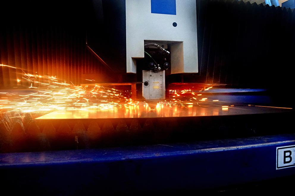 taglio laser 2d - I.S.A. VASCELLI